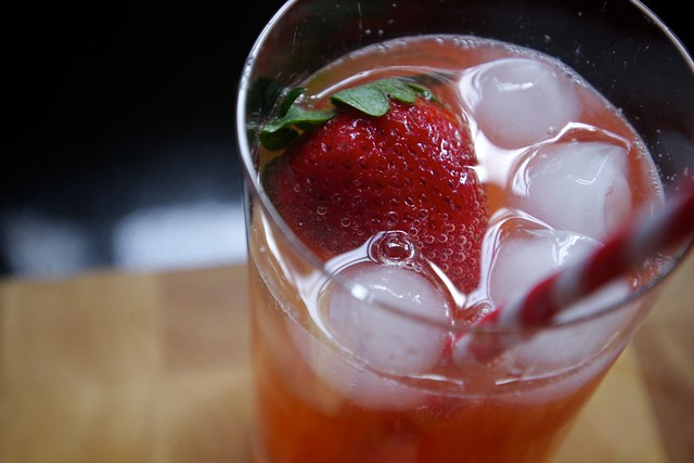 strawberry basil soda | Flickr - Photo Sharing!