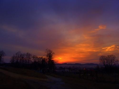 trees sunset sky castle history town ruins colours path stones poland polska historia olsztyn miasto silesia kolory zamek śląsk niebo ruiny zachódsłońca drzewa częstochowa ścieżka doublyniceshot