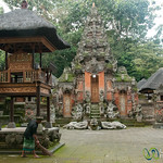 Hindu Temple at Monkey Forest - Ubud, Bali