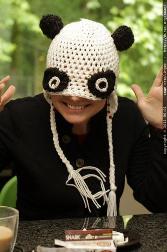 panda hat gone wild