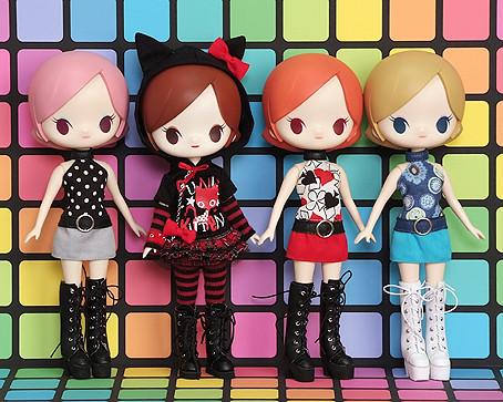 Японские куклы LUNA ROCK