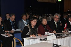 Canada: Leona Aglukkaq (Minister of Health), Eva Aariak (Premier of Nunavut), Floyd Roland (Premier of the Northwest Territories)