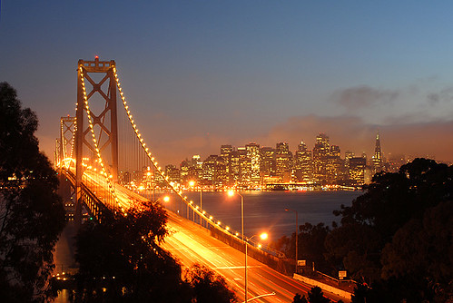 San Francisco skyline & Bay Bridge