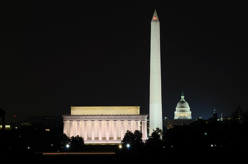 The Most Dramatic View of DC at Night