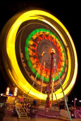 longexposure carnival night georgia lights ferriswheel rides tpc lagrange troupcounty thesussman sonyalphadslra200 tpcu6 tpcu6l2