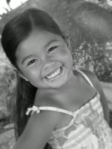 girl smile hawaii waikoloa