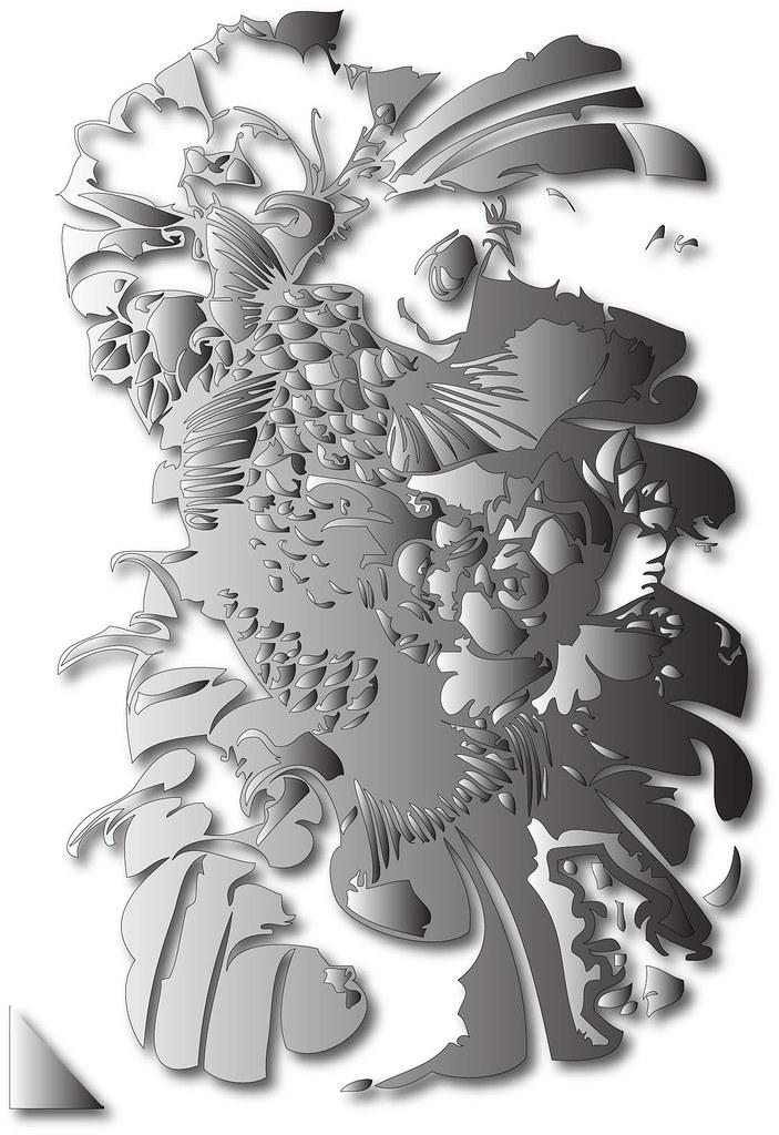 Japanese Koi Fish Tattoo Designs 4 Douglas Smith Flickr