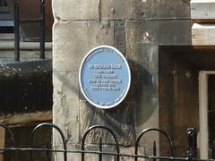 Photo of Benjamin Baker blue plaque