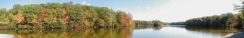 panorama usa water unitedstates connecticut ct allrightsreserved voluntown pachaugstateforest pachaugtrail nehantictrail greenfallpond