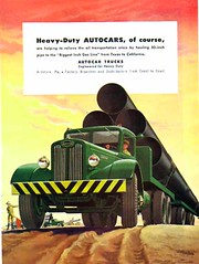 All Autocar Ads-- 1930's -- 60's