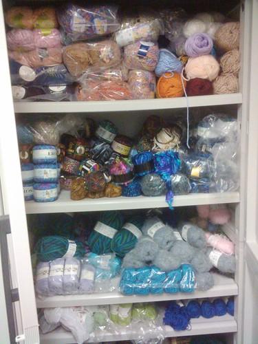 Yarn organizing