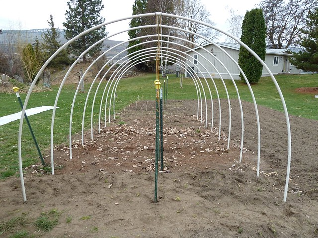 how to build a greenhouse out of pvc pipe