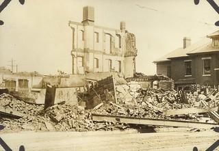 Damaged Buildings, Dayton, OH - 1913 Flood