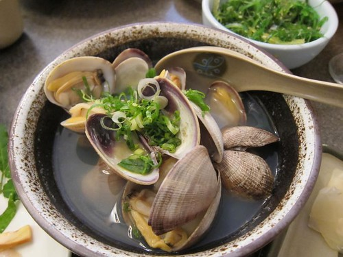 Steamed clams, Sushi Sam's IMG_5438