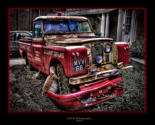 Recovery needs recovery, Landrover Series II