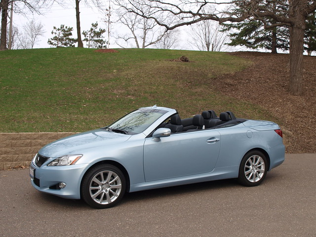 2011 Lexus IS 250C 6