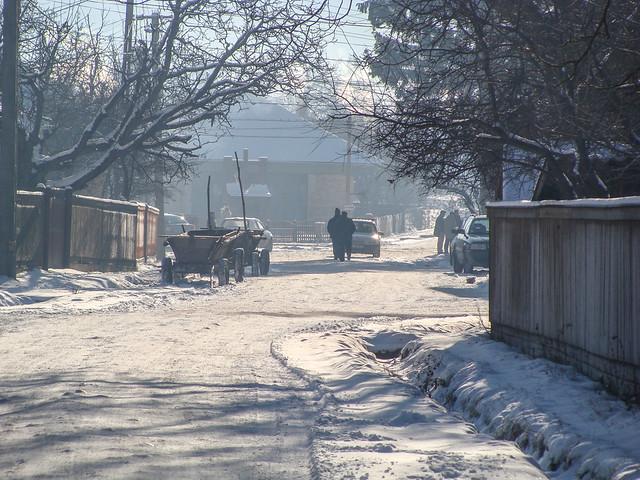 Ozsdola on a winters morning