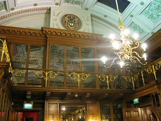 Library in the Royal College of Physicians
