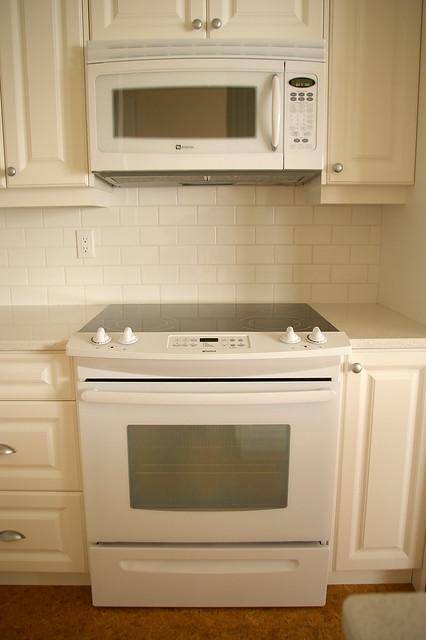Slide In Range And Microwave Vent Hood Combination Keep