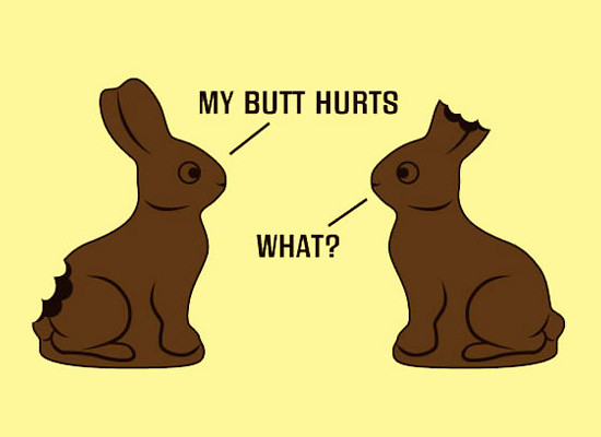 Funny Easter Joke My Butt Hurts 58