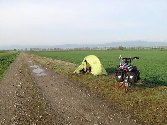 Polish camping