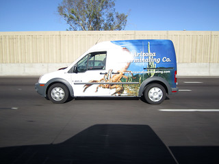 arizona exterminating co van