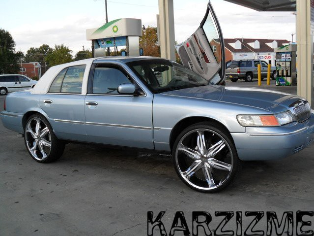 2011 Impala On 24s >> Mercury Grand Marquis | Mercury Grand Marquis on 26s | Flickr - Photo Sharing!
