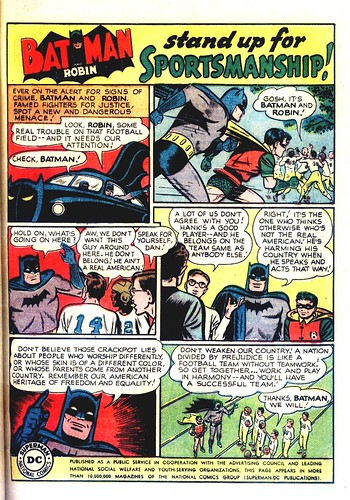 Batman anti-racism