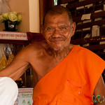 Friendly Monk on Koh Samui, Thailand