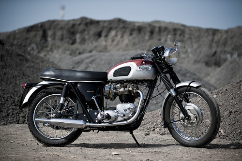 Triumph T120 Bonneville 650cc 1969 by Michel 67