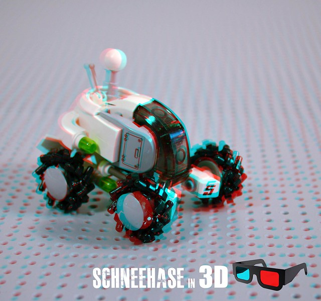 schneehase in 3d