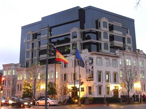 La embajada de España en Washington