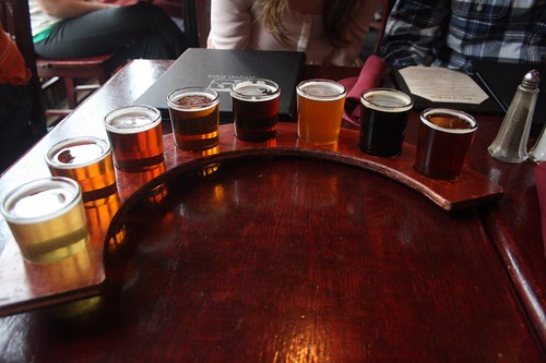 now THAT's a beer sampler