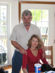 Jerry with Tara