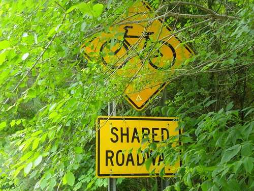 Shared roadway