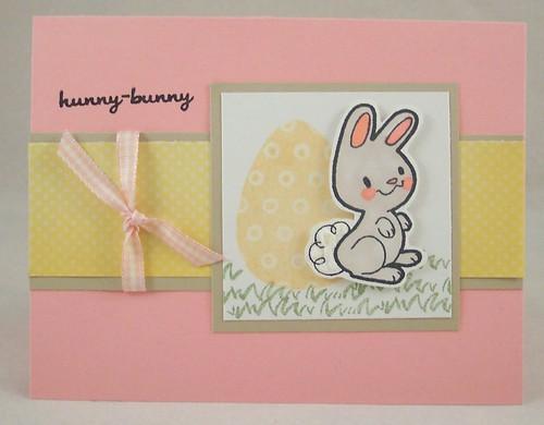 hunny bunny card