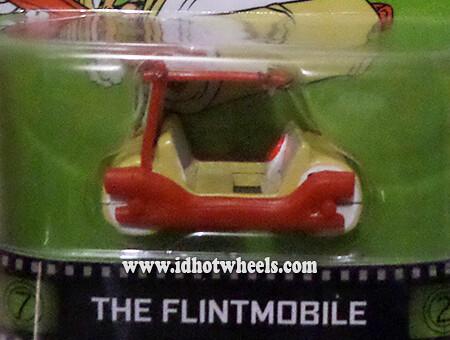 Hot Wheels Retro Entertainment The Flintstones Flintmobile