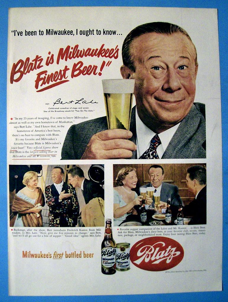 Blatz-1952-bert-lahr