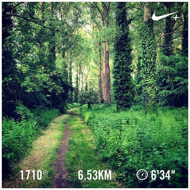Favourite running path!!! #nikeplus #werunformatthias #runnerscommunity #running #thebreakfastclubchallenge
