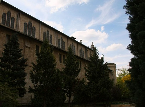 "Rear side of ""Notre-Dame du Travail"" - A working-class church in Paris 14th"