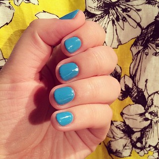 #Nailpolish #nailpolishaddict #nailpolishaddicts #cerurealblue #shell #lookbook #lookoftheday #summer