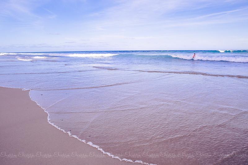 Pacific Ocean seaside