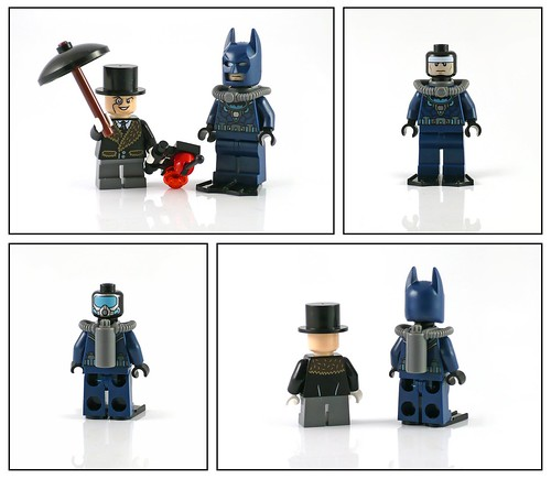 LEGO Super Heroes DC Universe 76010 Batman The Penguin Face Off figures