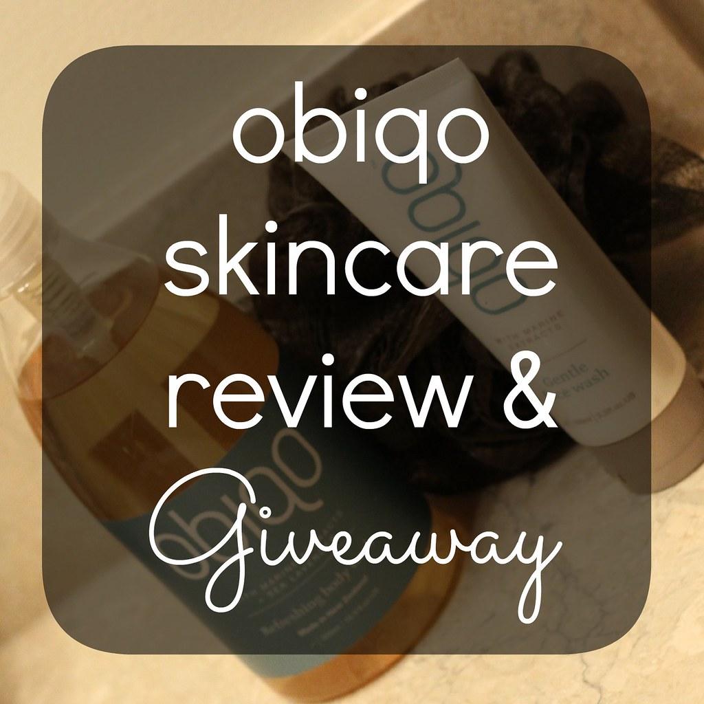 obiqo skincare giveaway