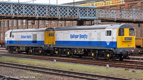train diesel railway doncaster southyorkshire 20142 20189 class20 balfourbeatty