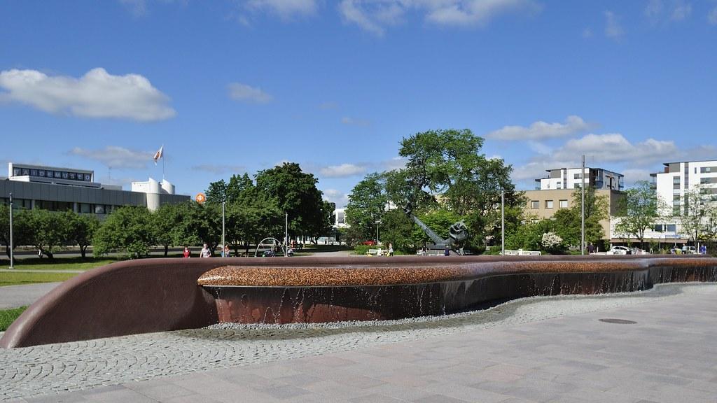 Hyvinkää - Die neue Brunnenanlage