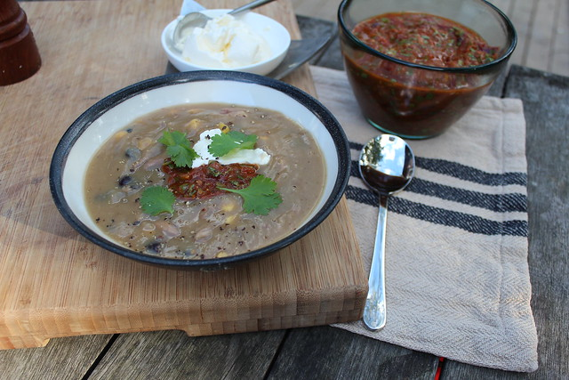 Pork, Kumara & Black Bean Soup