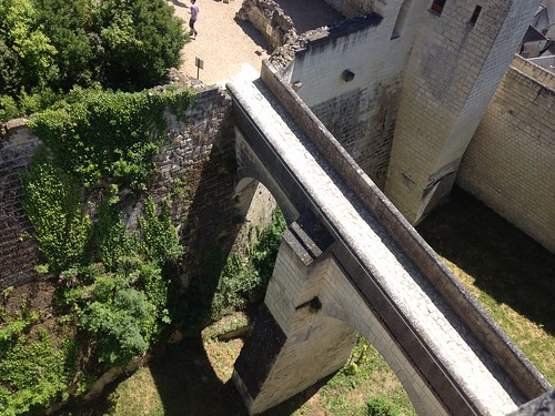 Chinon fortress