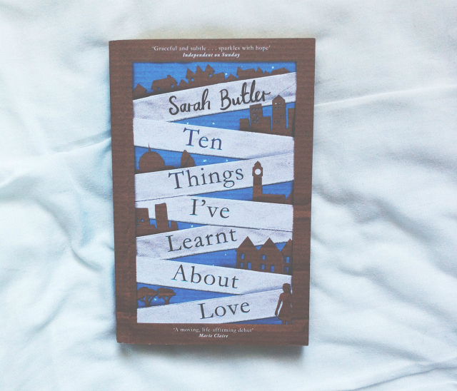 sarah butler ten things ive learnt about love book lifestyle blog vivatramp