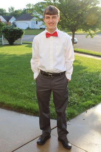 Blake 8th Grade Graduate